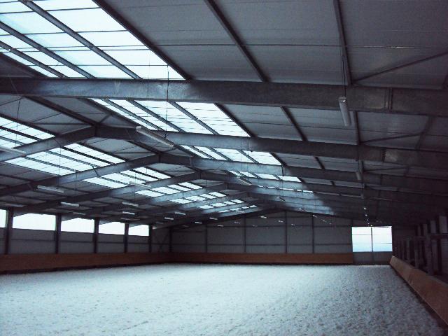Roches Prémarie - Manège 2200 m2